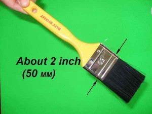 Artist 2 inch brush.