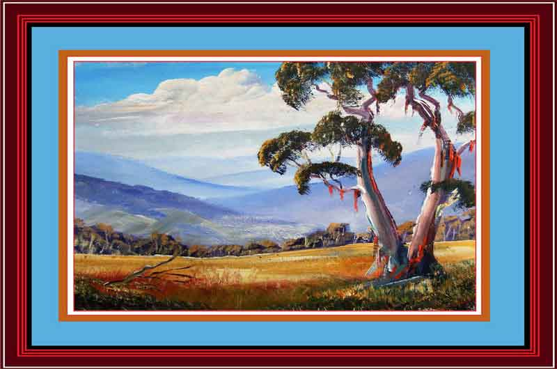 Learn to paint australian landscapes in acrylics for Learn to paint with oils for free