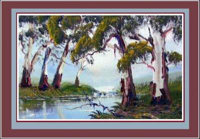 paint gum trees