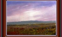 acrylic painting of sky